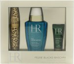 Helena Rubinstein Lash Queen Feline Gift Set 7.2ml Maskara + 50ml All Mascaras! Eye Make-Up Remover + 3ml Prodigy Eye Care