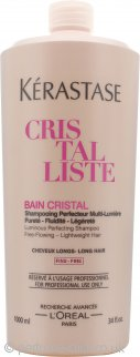 Kérastase Cristalliste Bain Cristal Luminous Perfecting Shampoo 1000ml - for Long Hair (Fine)