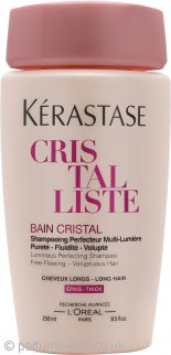 Kérastase Cristalliste Bain Cristal Luminous Perfecting Shampoo 250ml - for Long Hair (Thick)