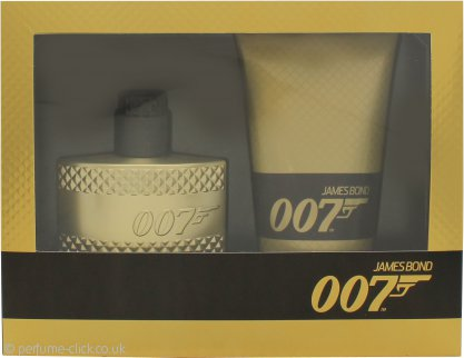 James Bond 007 Gold Gift Set 50ml EDT + 150ml Shower Gel