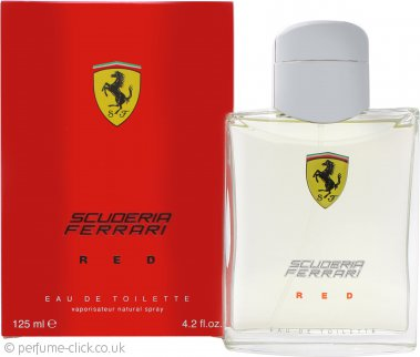 Ferrari Scuderia Ferrari Red Eau de Toilette 125ml Spray