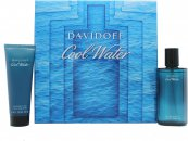 Davidoff Cool Water Gift Set 75ml Aftershave Spray + 75ml Shower Gel