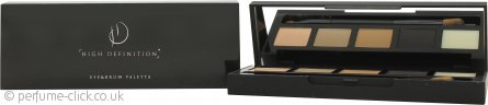 High Definition Eye & Brow Palette 001 Bombshell - 0.8g Highlighter + 0.8g Light Blonde + 0.8g Medium Blonde + 0.8g Carbon + 0.6g Wax