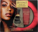 Beyonce Heat Kissed Gift Set 15ml EDP + 75ml Body Lotion