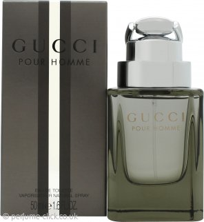 Gucci by Gucci Pour Homme Eau De Toilette 50ml Spray (New Version)