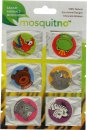 MosquitNo Spotzzz Citronella Stickers Single Sheet Safari Animals