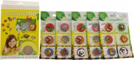 MosquitNo Spotzzz Citronella Stickers Gift Set 5 Sheets - Safari Animals