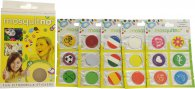 MosquitNo Spotzzz Citronella Stickers Gift Set 5 Sheets - Mix Designs