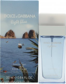 Dolce & Gabbana Light Blue Love in Capri Eau de Toilette 25ml Spray