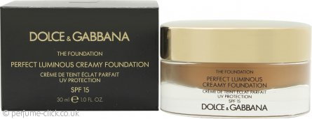 Dolce & Gabbana Perfect Finish Creamy Foundation 30ml - 148 Amber SPF15