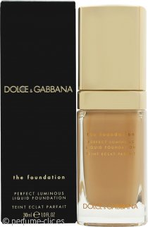 Dolce & Gabbana Perfect Luminous Base Líquida 30ml - 148 Amber