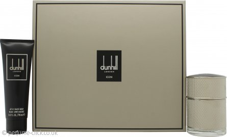 Dunhill London Icon Gift Set 50ml EDP + 90ml Aftershave Balm