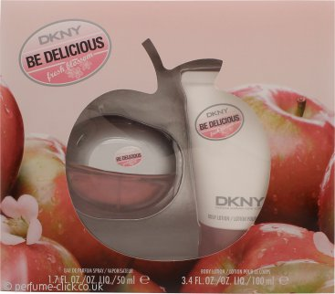 DKNY Be Delicious Fresh Blossom Gift Set 50ml EDP + 100ml Body Lotion