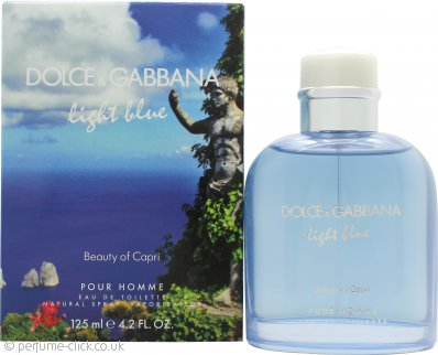 Dolce & Gabbana Light Blue Pour Homme Beauty of Capri Eau de Toilette 125ml Spray