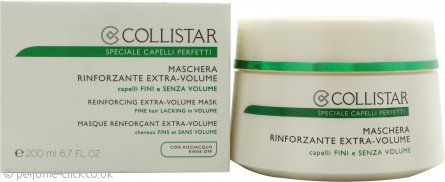 Collistar Speciale Capelli Perfetti Reinforcing Extra-Volume Rinse-Off Hair Mask 200ml