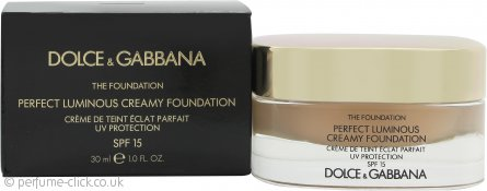 Dolce & Gabbana Perfect Finish Creamy Foundation 30ml - 80 Creamy SPF15