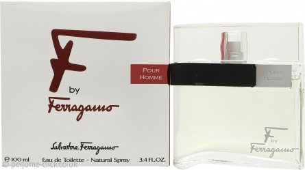 Salvatore Ferragamo F By Ferragamo Pour Homme Eau De Toilette 100ml Spray