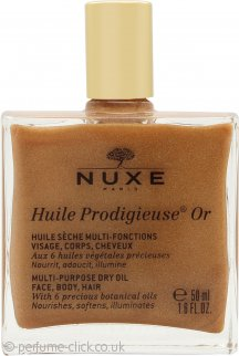 Nuxe Huile Prodigieuse Or Golden Shimmer Dry Oil 50ml