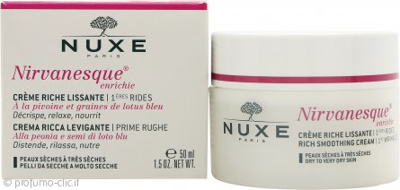 Nuxe Nirvanesque Enrichie 1st Wrinkles Rich Smoothing Crema 50ml (Pelle Secca/Molto Secca)