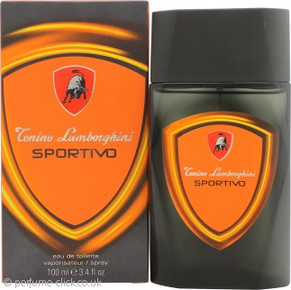 Lamborghini Sportivo Eau de Toilette 100ml Spray