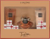 Lancome Tresor Gift Set 1.0oz (30ml) EDP + 1.7oz (50ml) Body Lotion + 1.7oz (50ml) Shower Gel