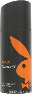 Playboy Miami Playboy Deodorant Spray 150ml