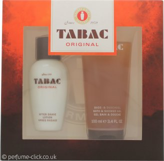 Mäurer & Wirtz Tabac Original Gift Set 50ml Aftershave Lotion + 100ml Shower Gel