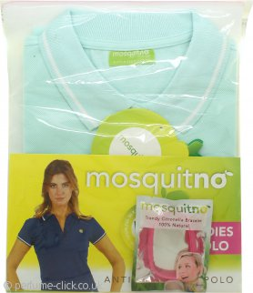 MosquitNo Gift Set Size M Anti Mosquito Ladies Polo + Citronella Bracelet - Assorted Colours