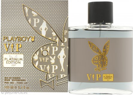 Playboy VIP Platinum Edition Eau de Toilette 100ml Vaporizador
