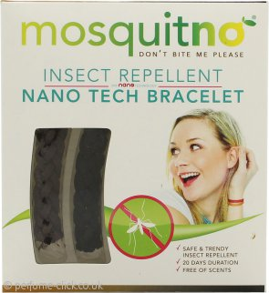 MosquitNo Insect Repellent Nano Bracelets Black & Brown