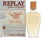 Replay Jeans Original for Her Eau de Toilette 40ml Vaporizador
