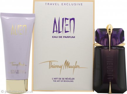 Thierry Mugler Alien Gift Set 60ml Refillable EDP Spray + 100ml Body Lotion