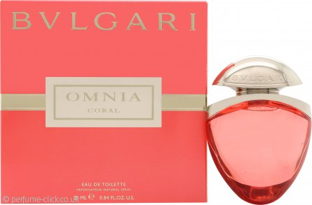 Bvlgari Omnia Coral Eau de Toilette 25ml Purse Spray