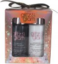 Style & Grace Glitz & Glam Mini Glow Gift Set 100ml Body Lotion + 100ml Body Wash + 15g Shower Flower