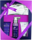 Style & Grace Signature Relax And Sleep Gift Set 120ml Body Wash + 70ml Body Scrub + 70ml Body Lotion + Head Band