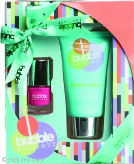 Style & Grace Bubble Boutique Mini Mani Magic Confezione Regalo 70ml Crema Mani + 8ml Smalto