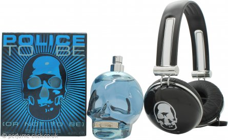Police To Be Gift Set 125ml EDT + Headphones