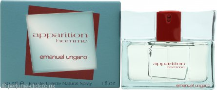 Emanuel Ungaro Apparition Homme Eau de Toilette 30ml Spray