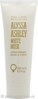 Alyssa Ashley White Musk Hand and Body Moisturiser 250ml