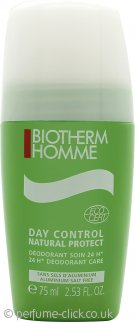Biotherm Homme Organic 24hrs Roll On Deodorant 75ml