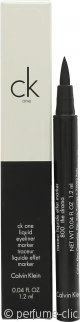 Calvin Klein CK One Cosmetics Eyeliner Líquido 1.2ml - The Drama
