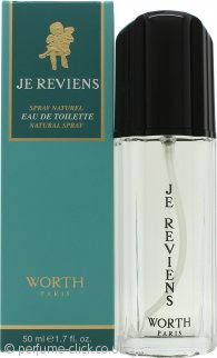 Worth Je Reviens Eau de Toilette 50ml Spray