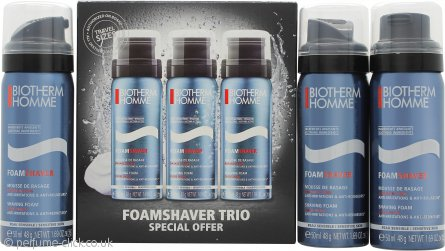 Biotherm Homme Gift Set 3 x 50ml Sensitive Shaving Foam