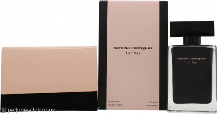 Narciso Rodriguez for Her Gift Set 50ml EDT + Mini Pouch