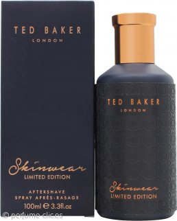 Ted Baker Skinwear Limited Edition Aftershave 100ml Vaporizador