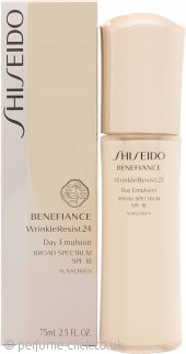Shiseido Benefiance Wrinkle Resist 24 Day Emulsion SPF18 75ml