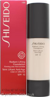 Shiseido Radiant Lifting Foundation 30ml SPF15 - I00 Very Light Ivory