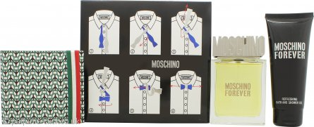 Moschino Moschino Forever Gift Set 100ml EDT + 100ml Shower Gel + Toiletry Bag