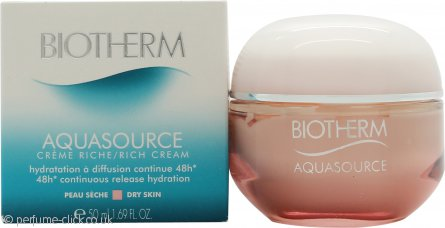 Biotherm Aquasource Creme Face Cream 50ml Dry Skin