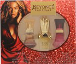 Beyoncé Gift Set 15ml Heat EDP + 15ml Rise EDP + 15ml Wild Orchid EDP
